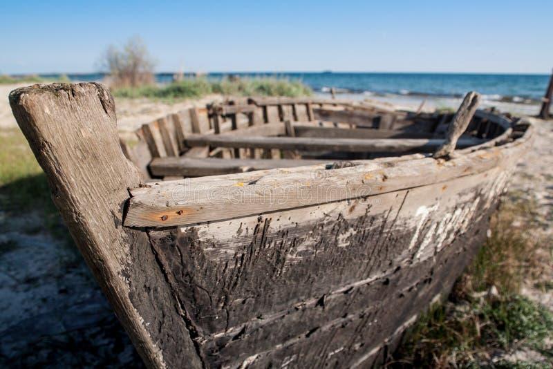 老小船 免版税库存图片