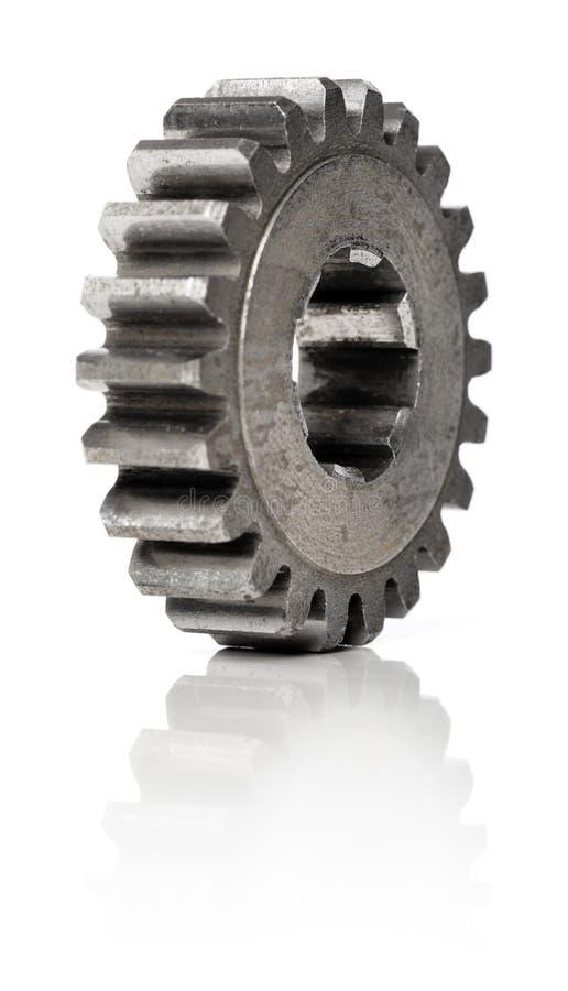 老嵌齿轮 免版税库存图片