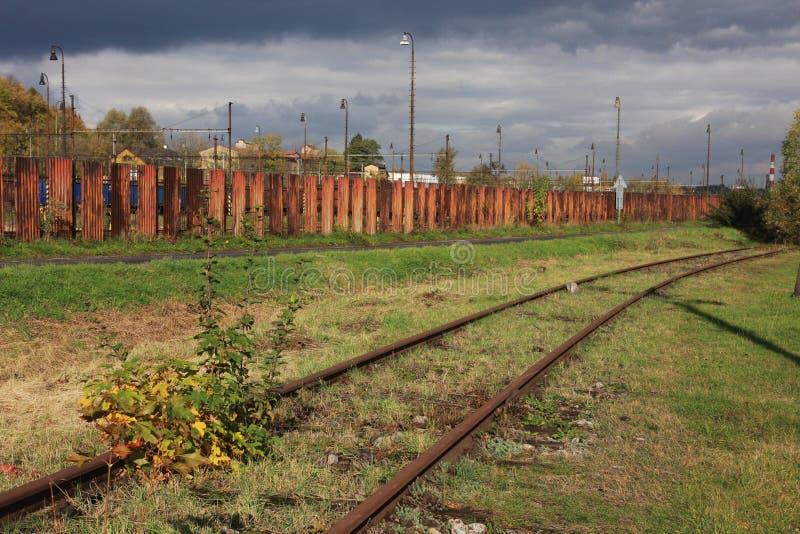 老工业区 库存图片