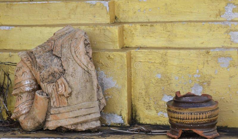 老工具在房子里 图库摄影