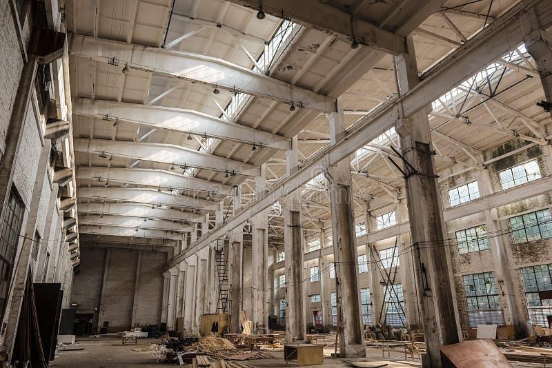 老工厂 免版税图库摄影