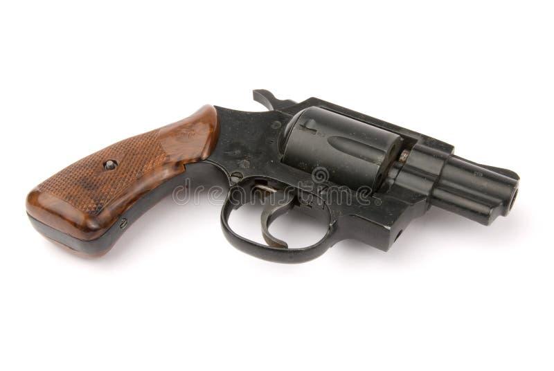 老左轮手枪 免版税库存图片