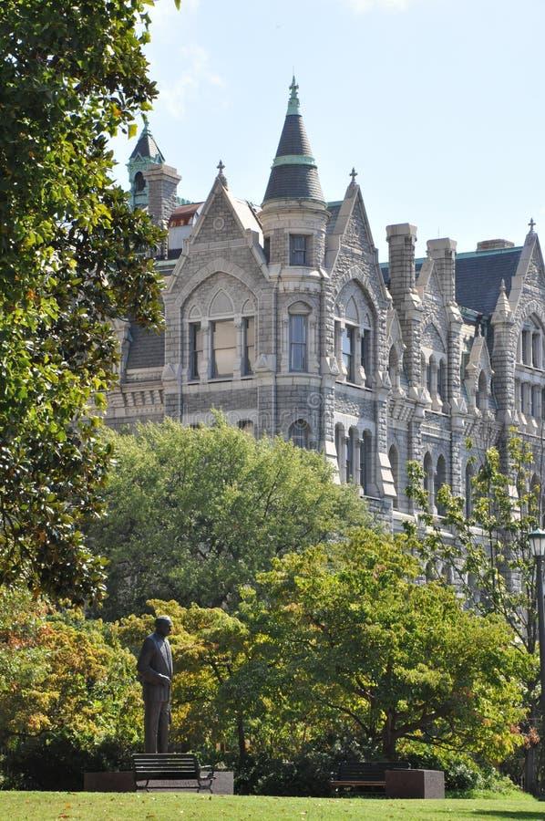 老市政厅在里士满,弗吉尼亚 库存图片