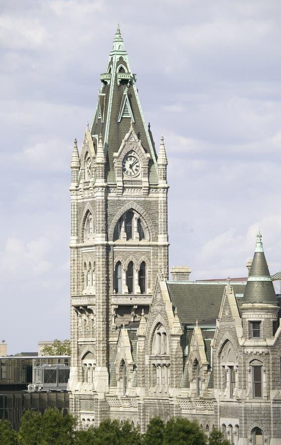 老市政厅 图库摄影
