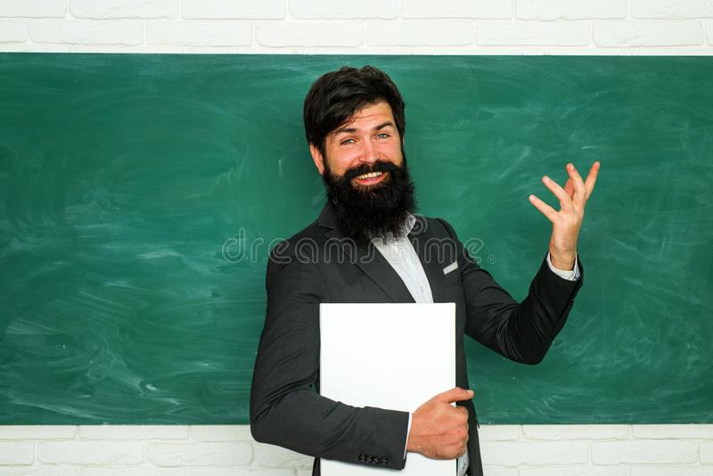 老师是熟练的领导 好家庭教师经常是通信大师 ?? E o ? 免版税库存图片