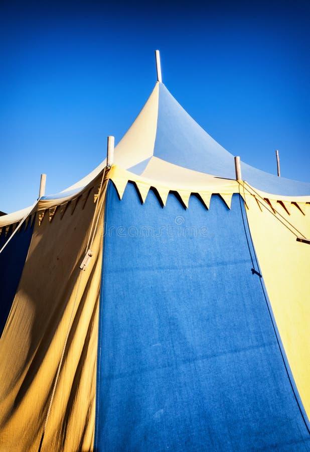 老帐篷 免版税库存图片