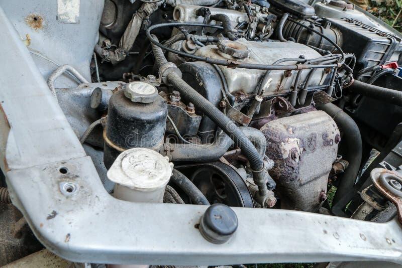 老引擎的细节 免版税库存图片