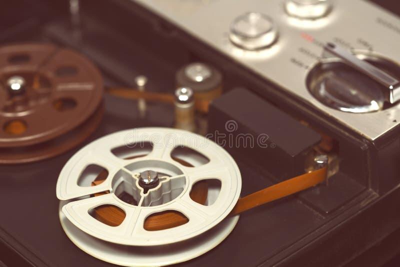 老录音机 库存照片