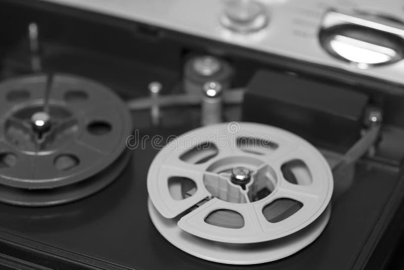 老录音机 免版税库存照片