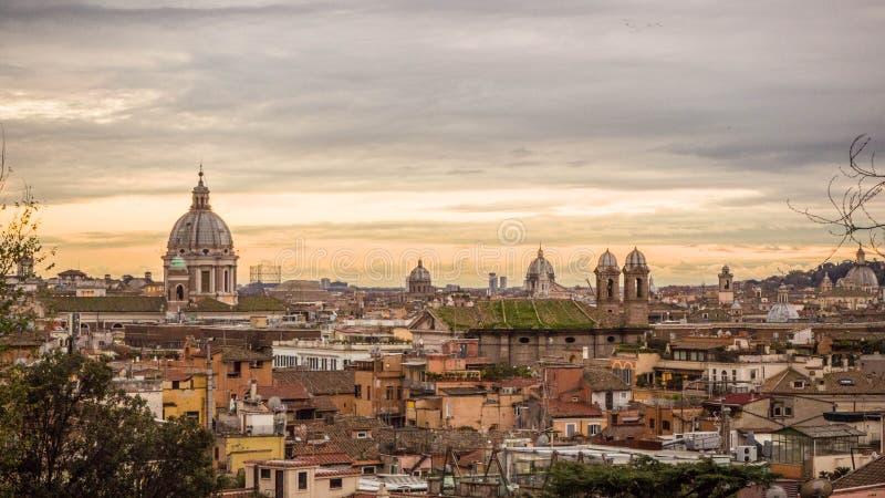 罗马市风景 图库摄影