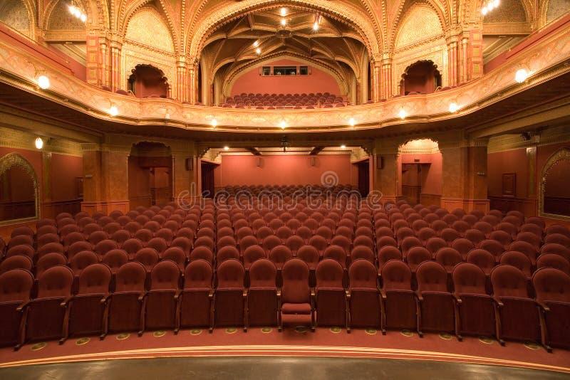 老戏院内部 库存照片
