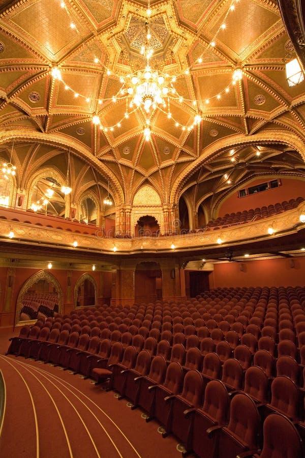老戏院内部 库存图片