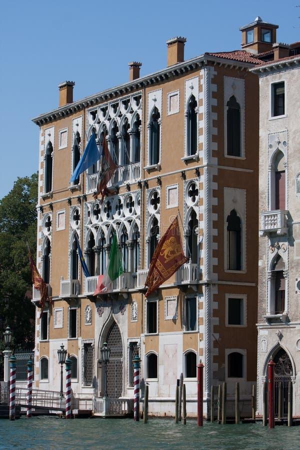 老房子在威尼斯 免版税库存图片