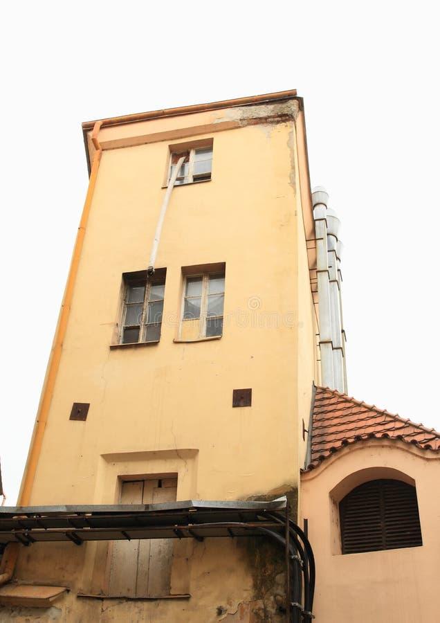 老房子在布拉格 库存照片
