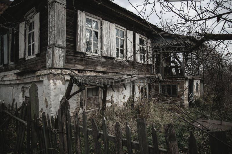 老房子在Starocherkask 免版税库存图片