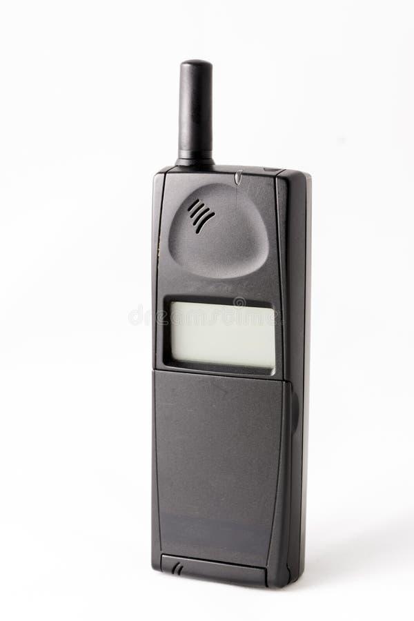 老手机设备 免版税库存照片