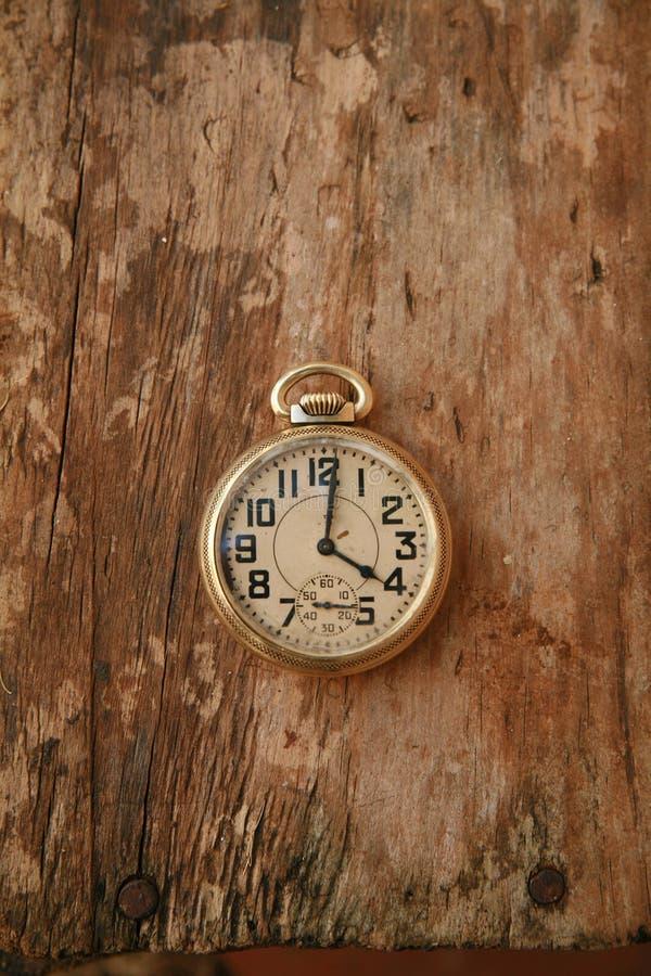 老手表 免版税库存照片