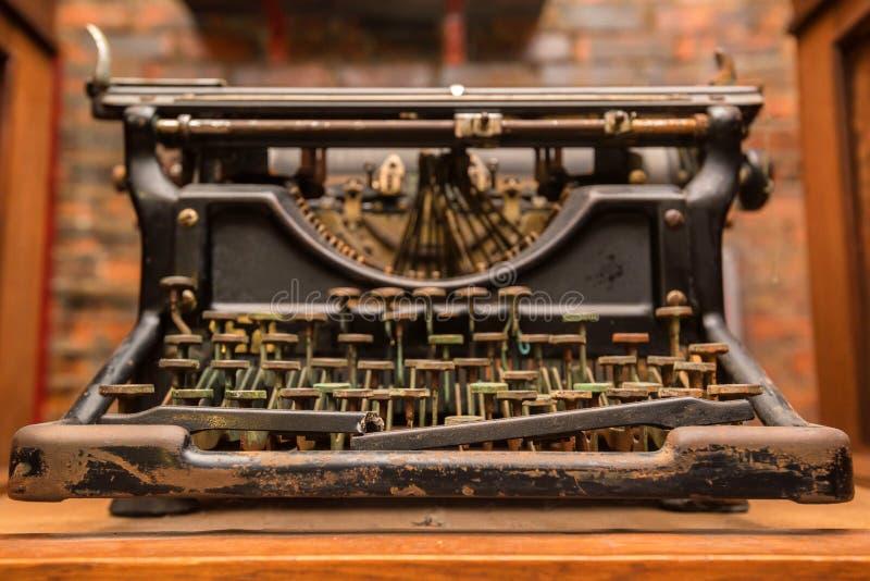 老打字机葡萄酒 免版税库存图片