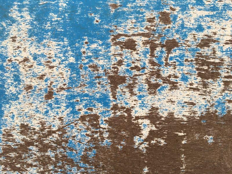 老打破的木板条纹理 免版税库存照片