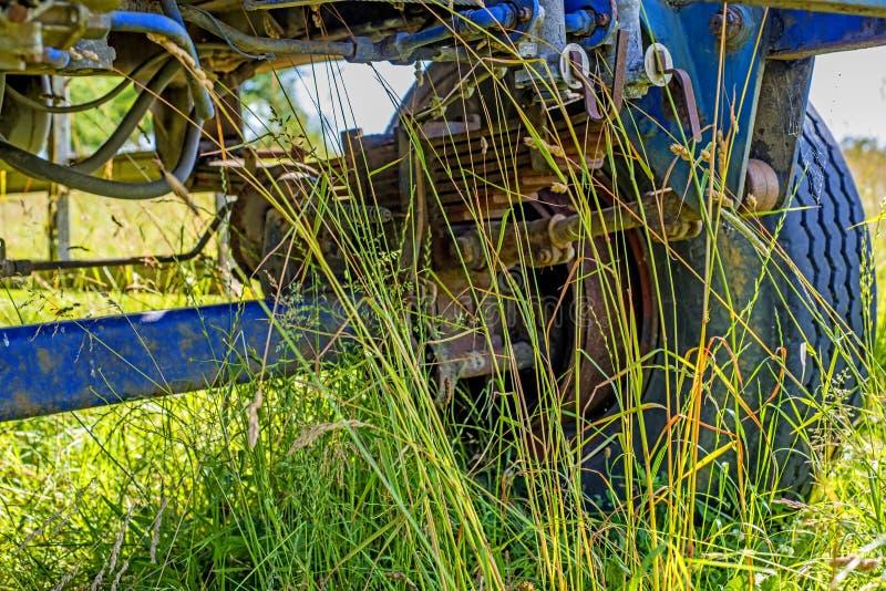 老拖车 图库摄影