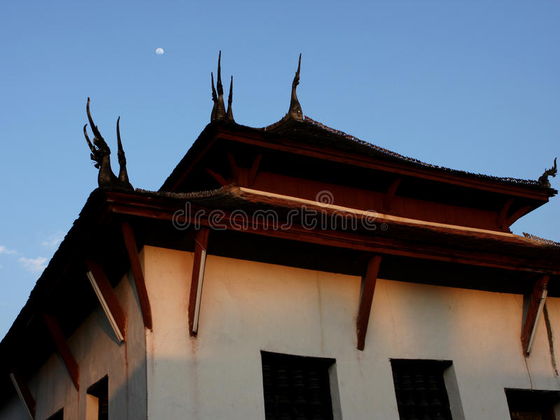 老挝寺庙 库存照片