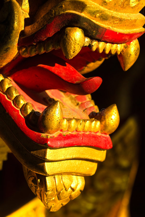 老挝luang纳卡人prabang 库存照片