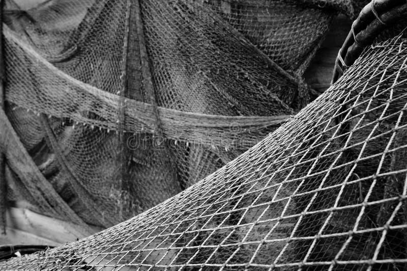 老捕鱼网 图库摄影
