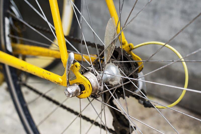 老插孔自行车 免版税库存照片