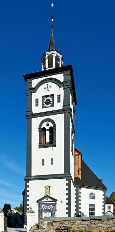 ?? 老教会在挪威 免版税库存照片