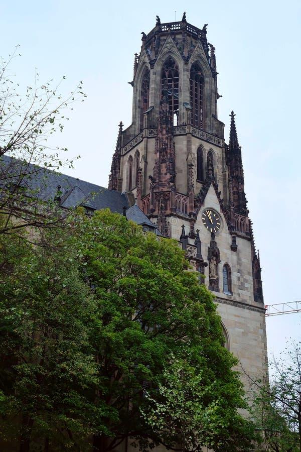 老教会,科隆市,德国 库存照片