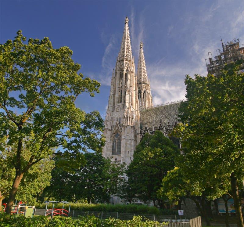 老教会,维也纳 图库摄影