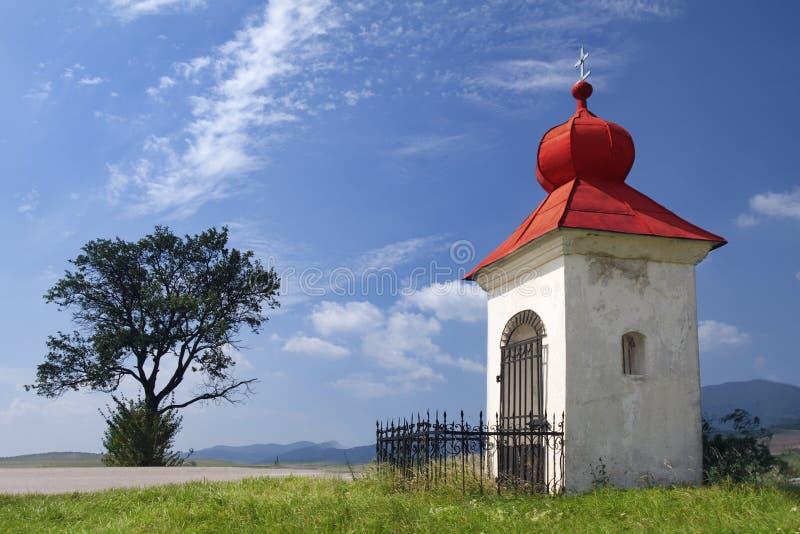 老教堂基督徒 库存照片