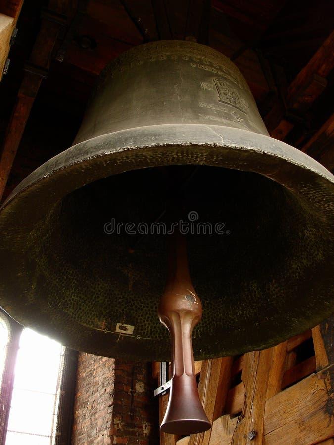 老教堂钟在克拉科夫,波兰 图库摄影