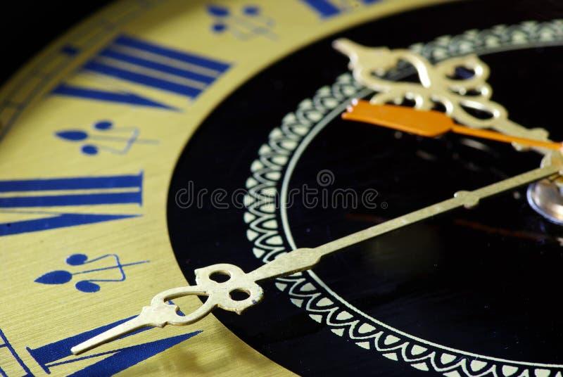 老时钟 免版税图库摄影
