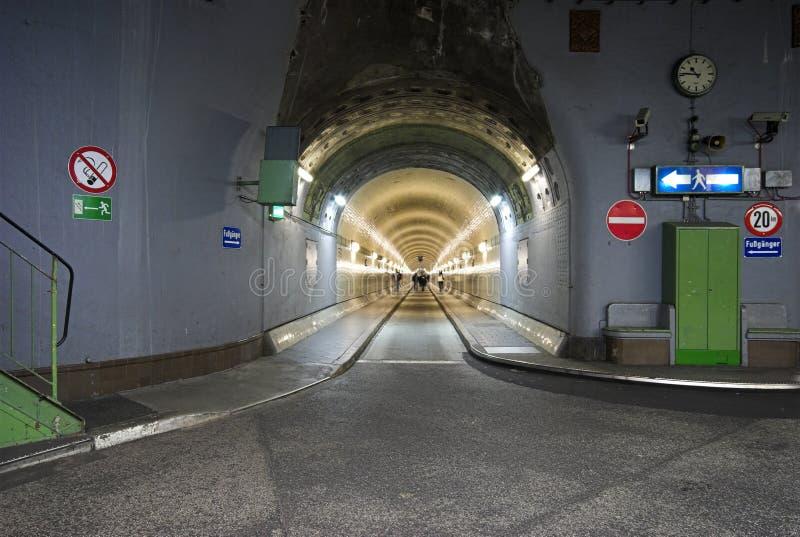 老易北河隧道 图库摄影