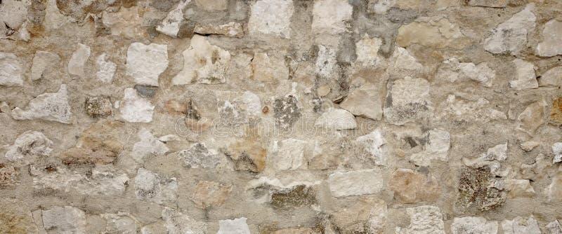 老有水泥缝的,石制品宽Backgrou花岗岩石墙 免版税库存图片