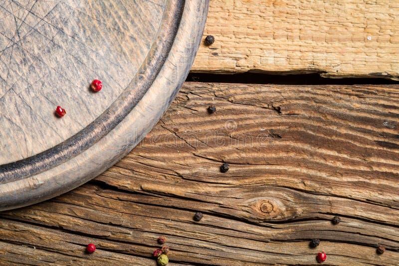 有被削减的标记的木切板 库存照片