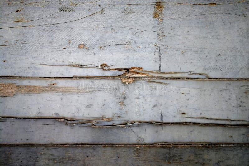 老木墙壁背景绘与银 图库摄影