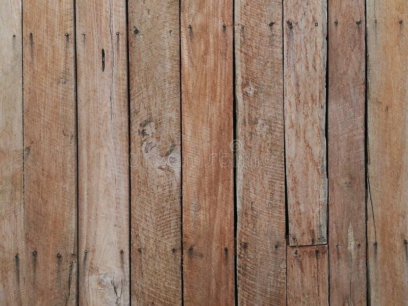 老木头和板条围住背景的纹理 库存图片