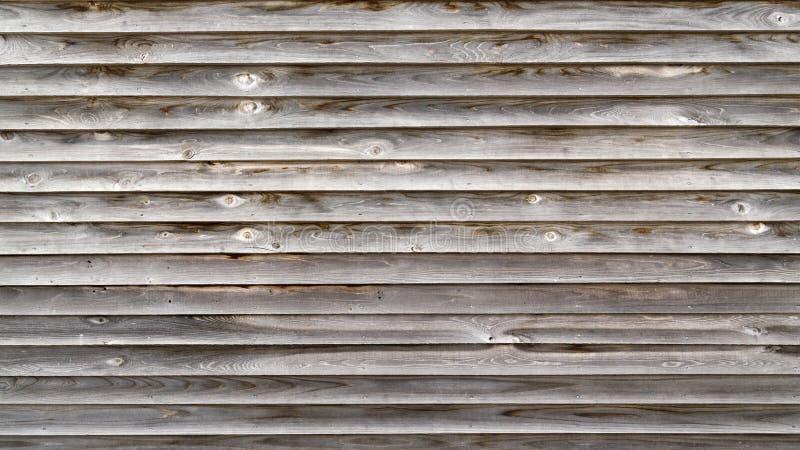 老木委员会板条房屋板壁 免版税图库摄影