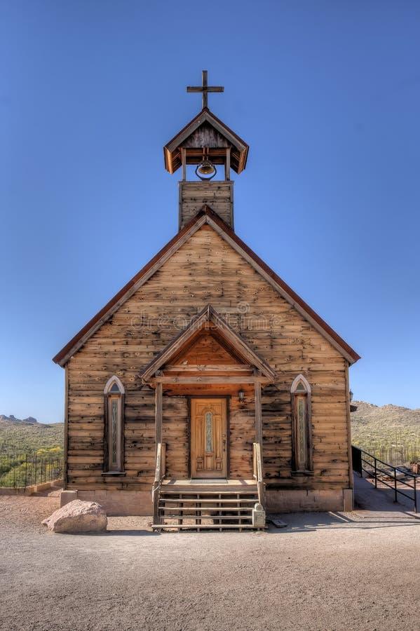 老木教会 免版税库存图片