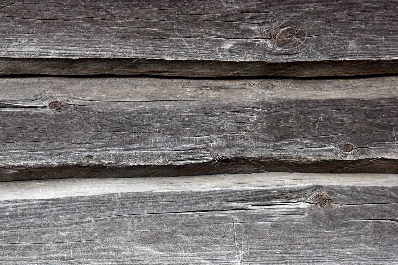 从老木日志的乡间别墅墙壁 自然木backgrou 库存照片