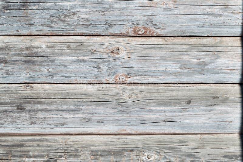 老木木屋 看法从外面 图库摄影