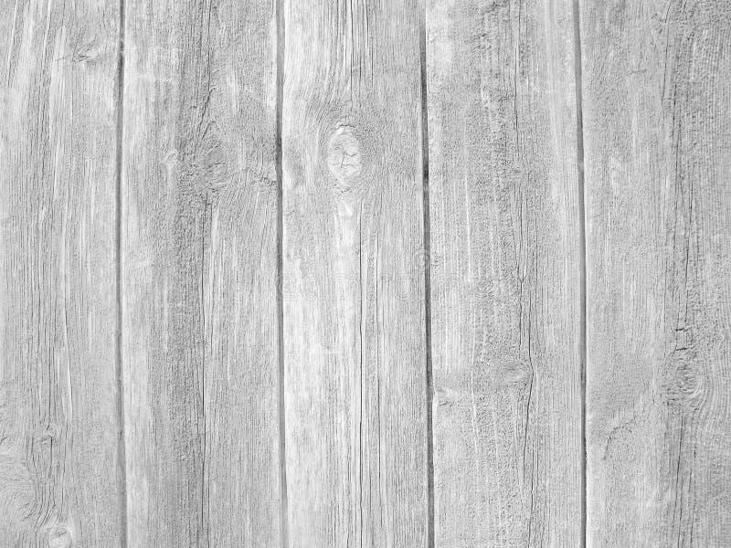 老木板条、木背景和纹理,黑白样式 库存图片