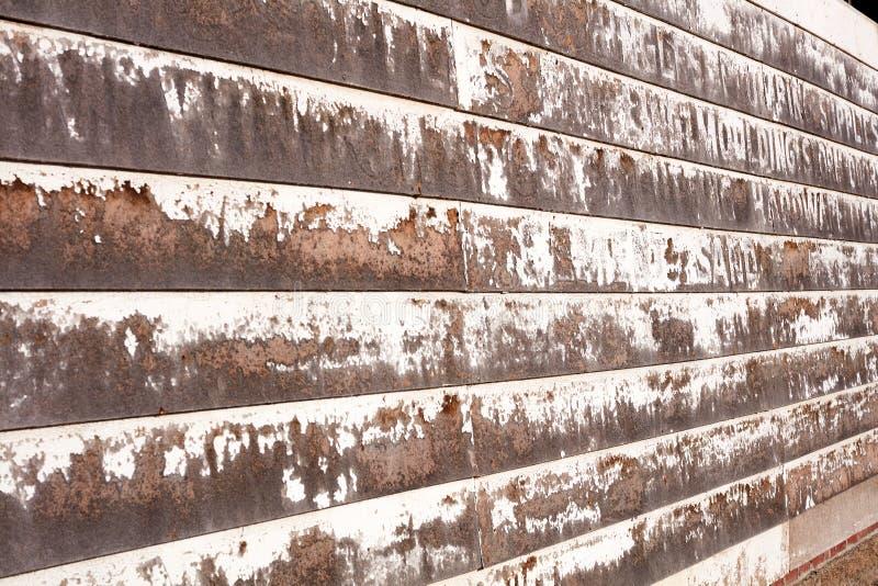 老木板条墙壁的背景纹理 库存图片