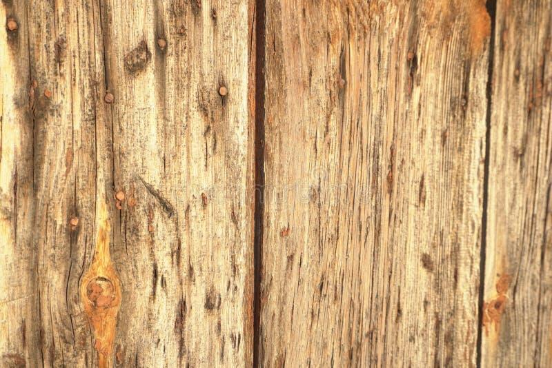 老木板条纹理墙壁背景 库存图片