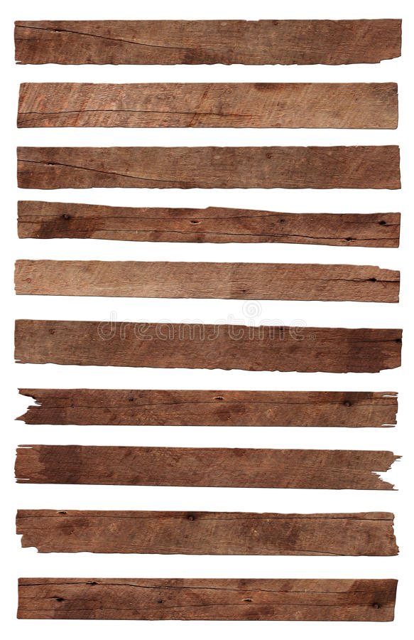 老木板条 图库摄影