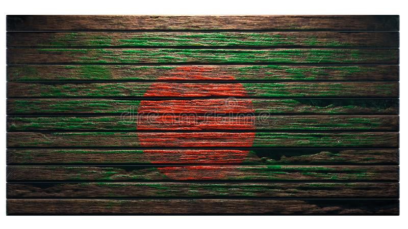 老木纹理背景 皇族释放例证