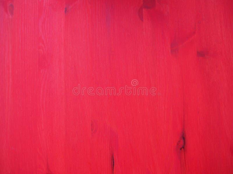老木绘与红色背景纹理 图库摄影