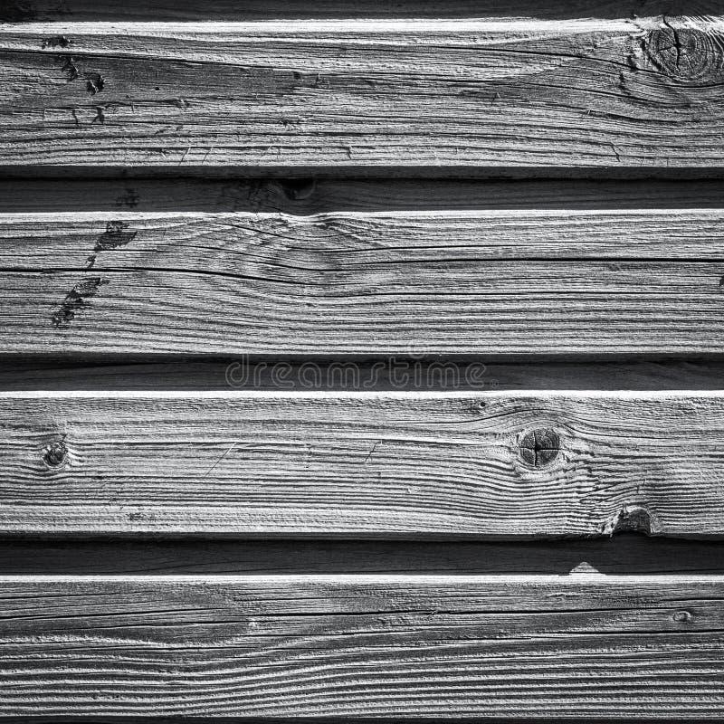 老木衬里上墙壁 库存照片